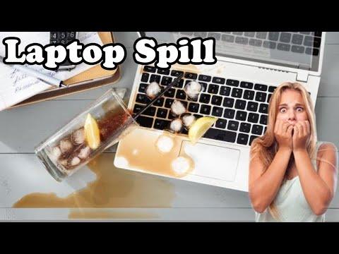 💻 I spilled something on my Laptop! (Dr. NOOB's Lab)