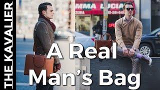 Why You Need A Nice Bag | Carl Friedrik Palissy Briefcase Lookbook