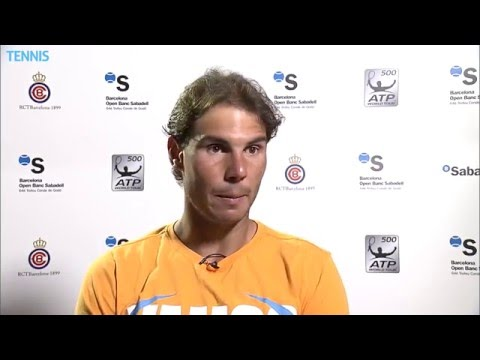 Nadal Into Barcelona 2016 Final