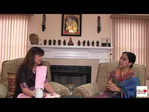 Academy Award Nominated, Carnatic Music Vocalist, Bombay Jayashri Ramnath on Chai with Manju