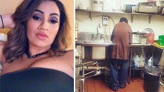 Девушка позволила бездомному поработать день, но после того как он сделал это... взяла его навсегда!