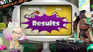 Splatoon 2 | Team Chicken vs. Team Egg Splatfest Results