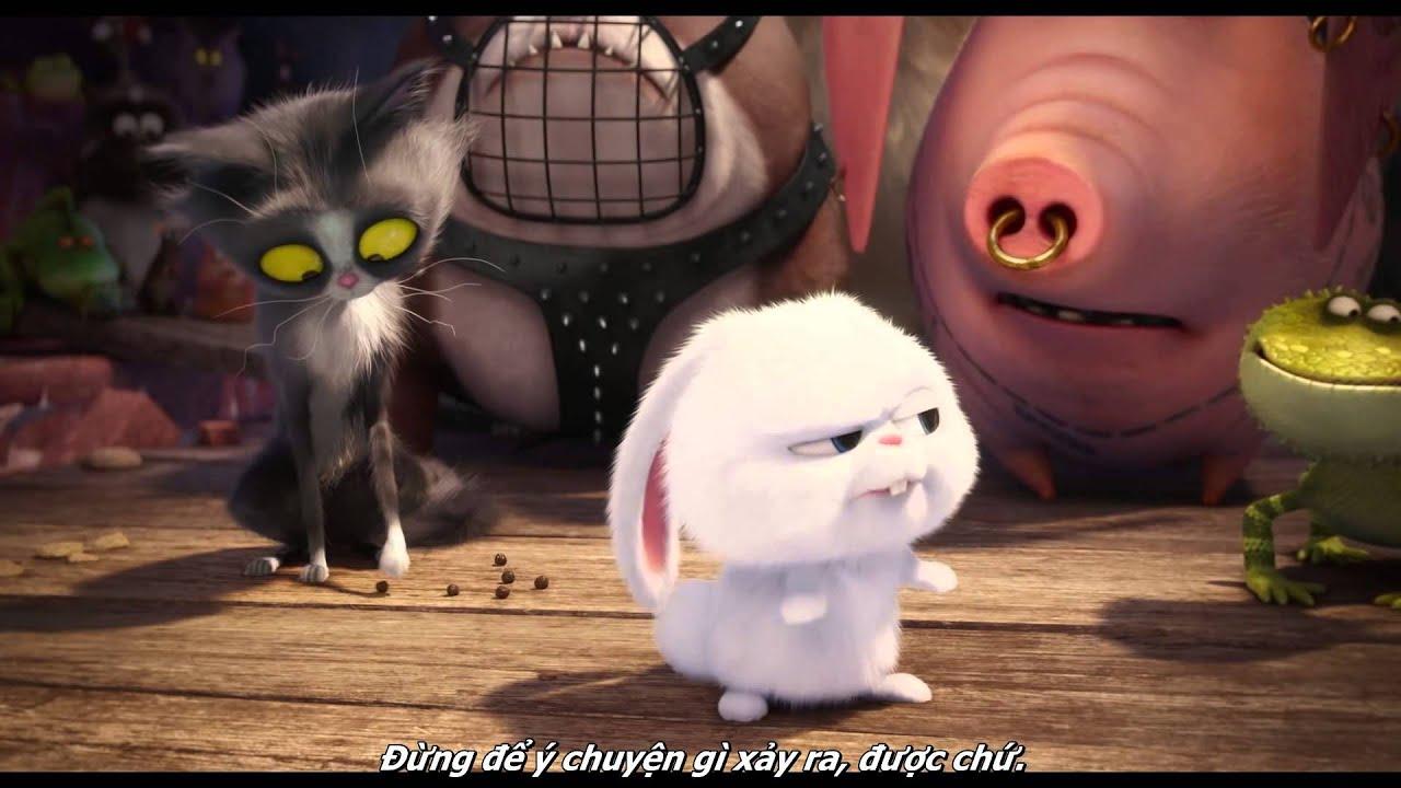 The Secret Life of Pets - Bí mật của thú cưng Trailer #2 (Vietsub)