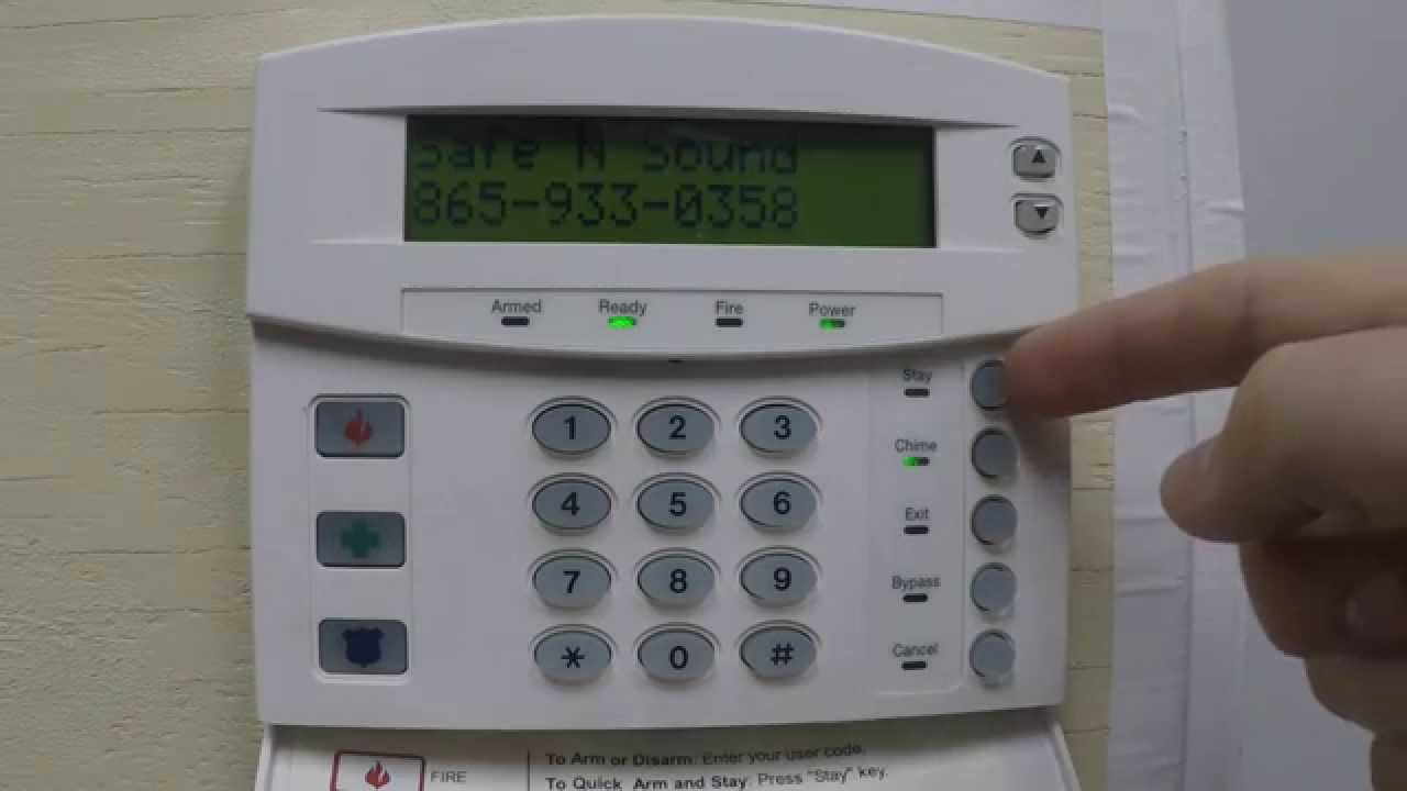 Security Alarm Keypad Not Working