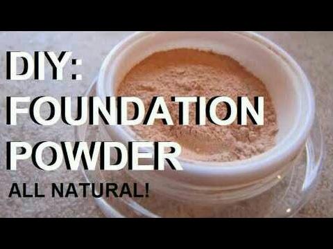 Mineral FOUNDATION POWDER//DIY FOUNDATION POWDER