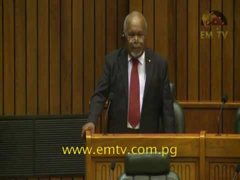 Grand Chief Sir Michael Somare's Farewell Speech in Parliament | April 4, 2017