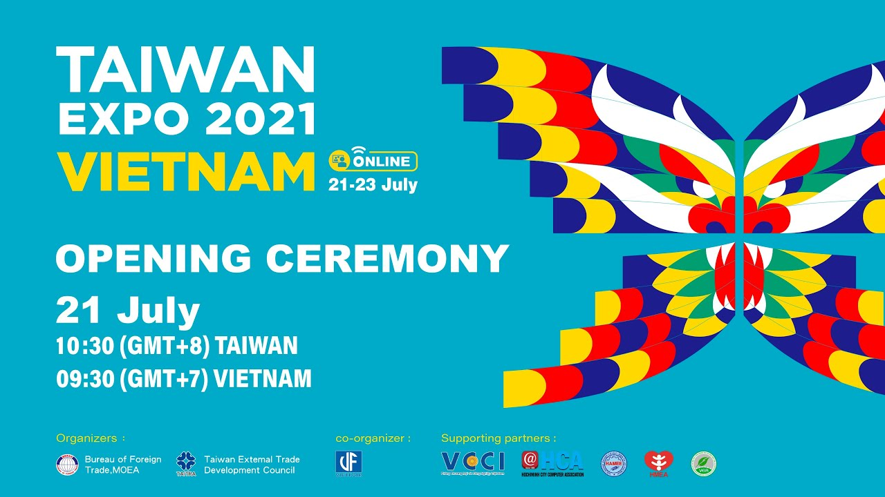 Come and meet us at Taiwan Expo in Vietnam 2021 Online Show.