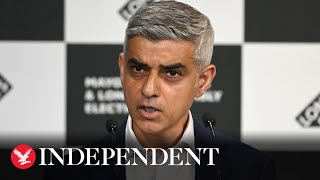 Sadiq Khan re-elected as Mayor of London