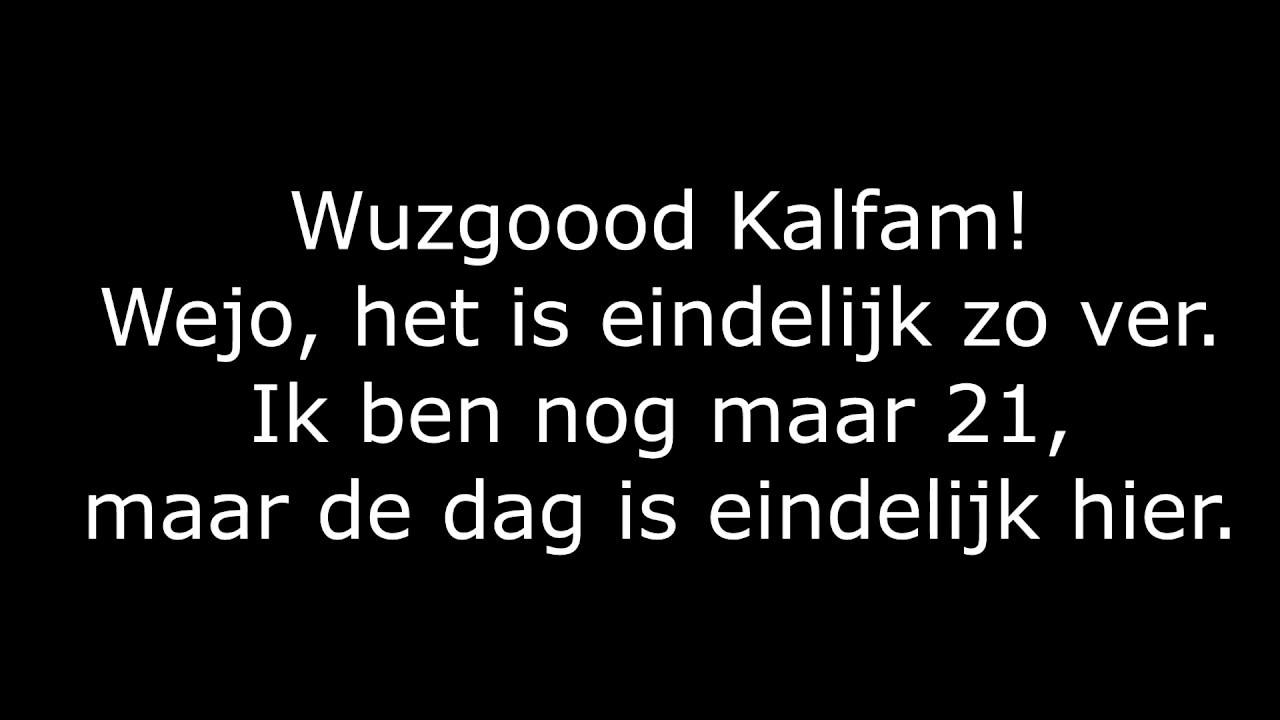 Kalvijn Nu Al Miljonair Met Songtekst Youtube