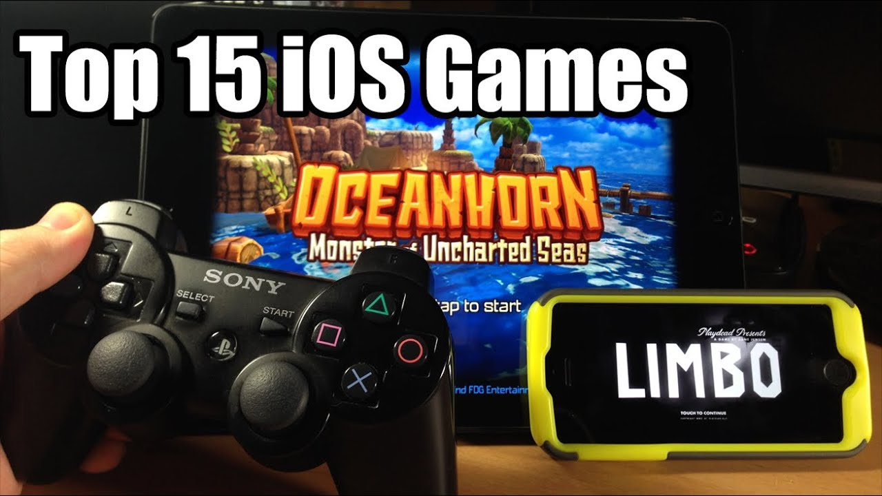 Top 15 Best Ios Games With Controller Support 2014 Youtube