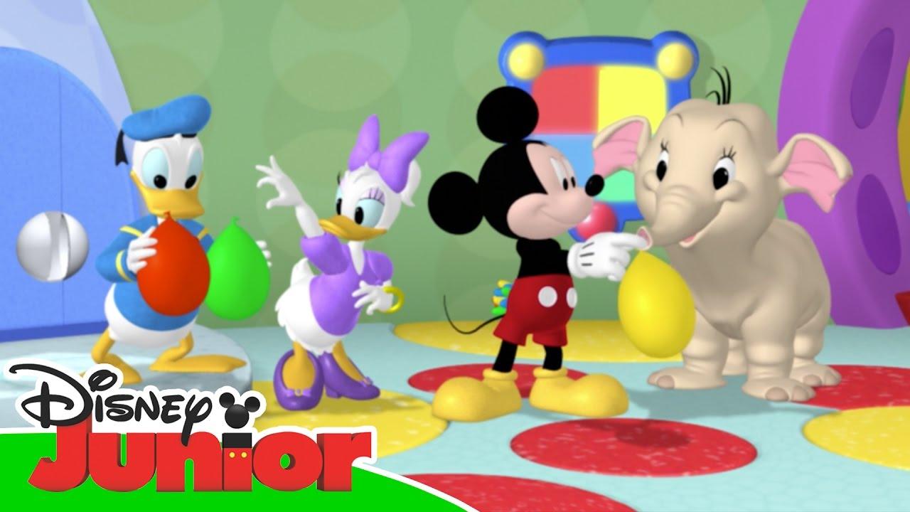 Magical moments la casa di topolino i palloncini per for La fattoria di topolino