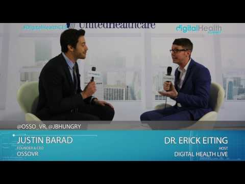 Justin Barad (Osso VR) Interview @ 2017 Digital Health & Fitness