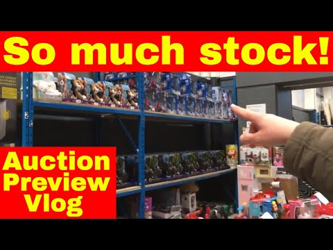 Auction preview - This place blew our mind!! - Reselling in the UK