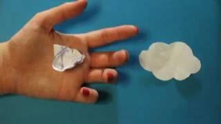 stop motion paper papier papertcut animation en papier oledie carte de voeux 2011