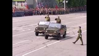 Парад Победы 2015. Луганск 9.05.2015(Сегодня