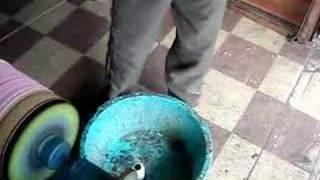 Pipas Cesinha - Engomando Tubo de 1500m