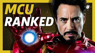 Every Marvel Cinematic Universe Movie Ranked From Worst To Best