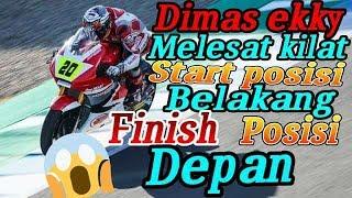Dimas ekky,FULL RACE Motorland Race moto2 European Championship