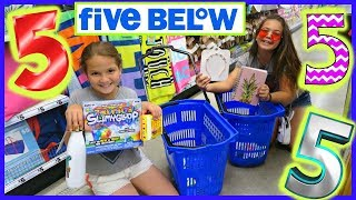 5 ITEMS AT FIVE BELOW IN 5 MINUTES CHALLENGE