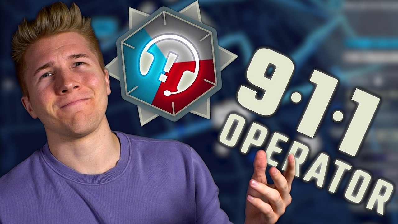 911 OPERATOR GAME! [Gameplay Simulator] | Let's Play 911 Operator Full  Release!