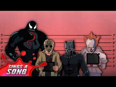 Pennywise X Black Panther X Venom X Jason (My Favourite Impressions Rap Cypher)