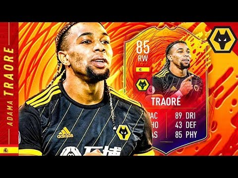 WHAT A BEAST!! 85 HEADLINERS ADAMA TRAORE REVIEW!! FIFA 20 Ultimate Team