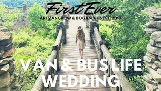 FIRST EVER VANLIFE & BUSLIFE WEDDING #travelcouplegoals