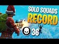 36 KILLS SOLO Vs SQUADS Personal Record Fortnite Battle Royale mp3