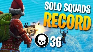 36 KILLS SOLO vs. SQUADS Personal Record (Fortnite Battle Royale) thumbnail