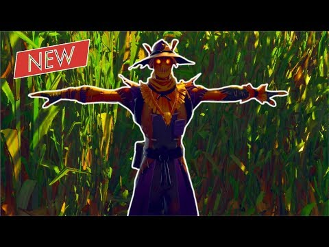 *WINNING* A GAME STANDING STILL With The Scarecrow! (T-Pose Emote!) | Fortnite Battle Royale!