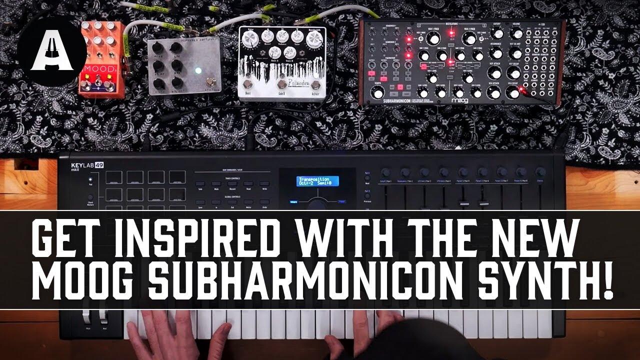 New Moog Subharmonicon Semi-Modular Synth - Tonal Exploration Like Never Before!