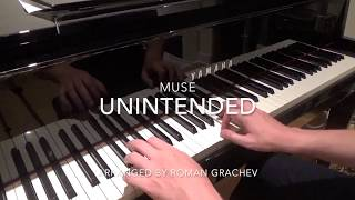 Muse - Unintended (piano cover)