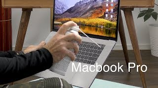 How to fix a stuck key on the New Macbook Pro - Butterfly Keyboard