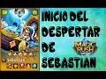 MAGIC RUSH : INICIO DEL DESPERTAR DE SEBASTIAN