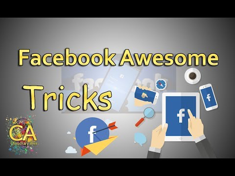 Best AWESOME New Facebook Tricks You Should Know (2017)