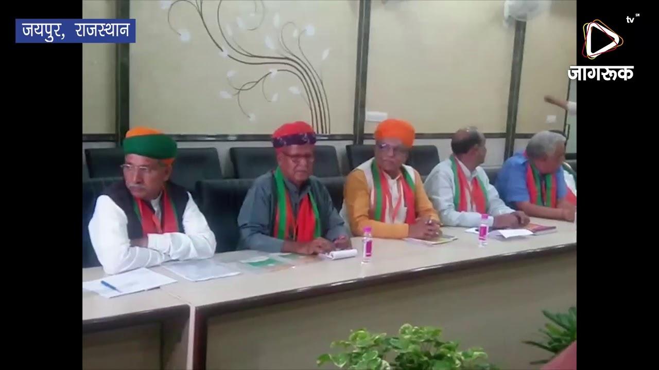 जयपुर : बीजेपी के राष्ट्रीय अध्यक्ष अमित शाह पहुंचे बीजेपी मुख्यालय