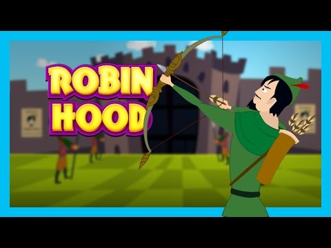 Robin Hood - Bedtimes Story For Kids || English Moral Stories For Kids || T Series Kids Hut Stories