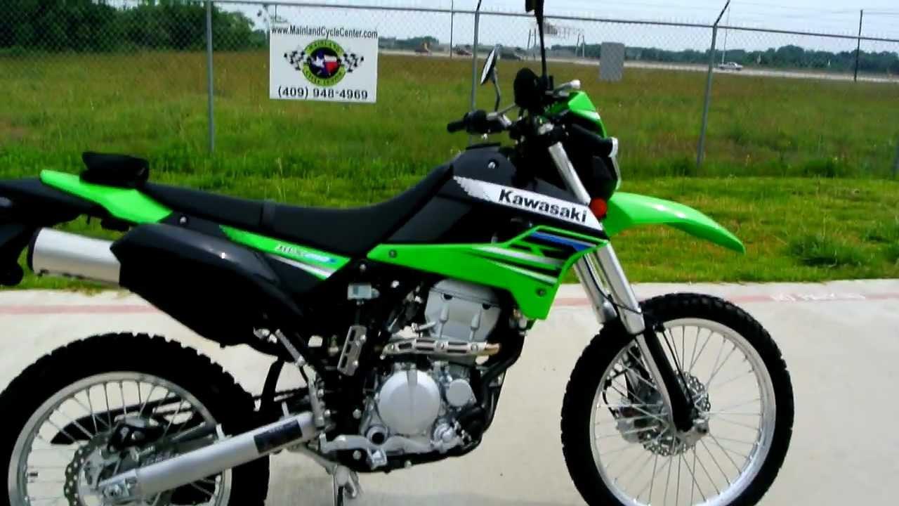 2012 Kawasaki KLX250S Lime Green