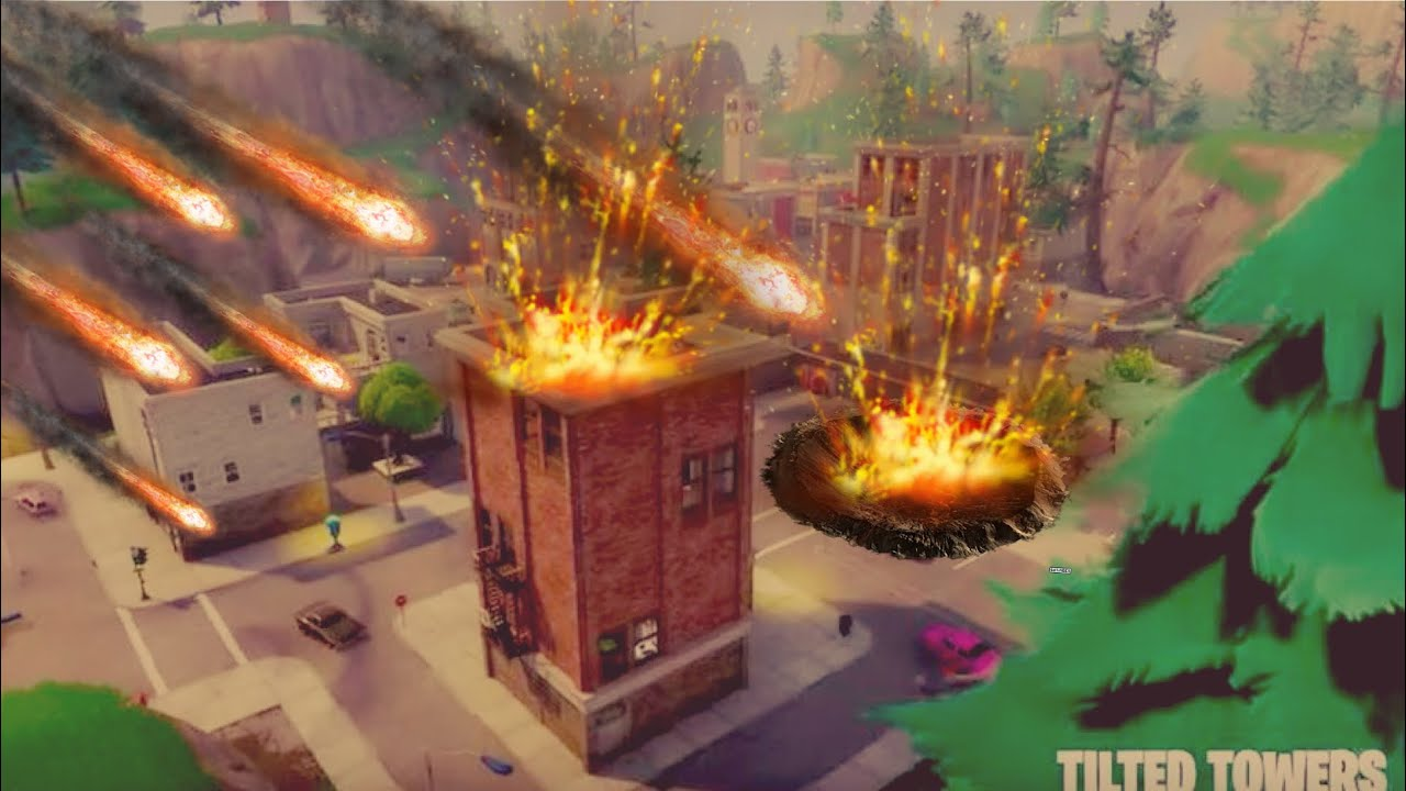 FORTNITE TILTED TOWERS METEOR! *NEW*