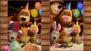 Маша и Медведь обучающие игры - Masha and the Bear