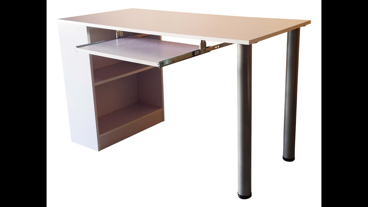 How To Install Contemporary Design DIY Office Table ...