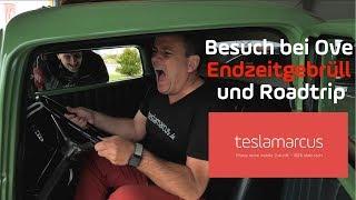 Besuch bei Ove Kröger T&T TESLA - Endzeitgebrüll und Roadtrip