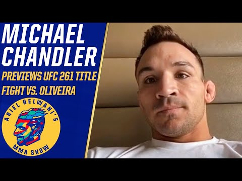 Michael Chandler on the road to #UFC262 title fight vs. Charles Oliveira | Ariel Helwani's MMA Show