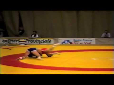 1987 Senior World Championships: 100 kg Byeung-Eun Cho (KOR) vs. Tamon Honda (JPN)