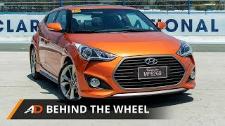 2017 Hyundai Veloster Turbo GLS Premium Behind the Wheel смотреть