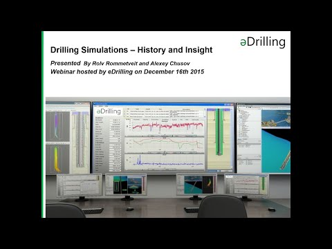 Webinar: Drilling Simulations - History and Insigth