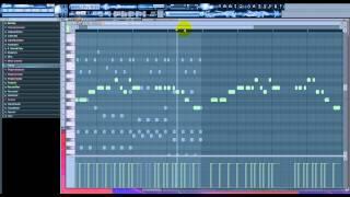 How to create Basshunter - Oh Sandra tutorial fl studio 10 tutoriel HD