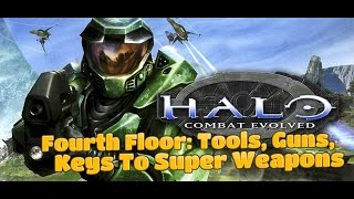 Halo: Combat Evolved - Fourth Floor: Tools, Guns, Keys To Super Weapons (The Library) XBOX