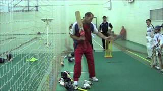 Playing off the back foot - A Complete Cricket Batting Masterclass with David Hemp