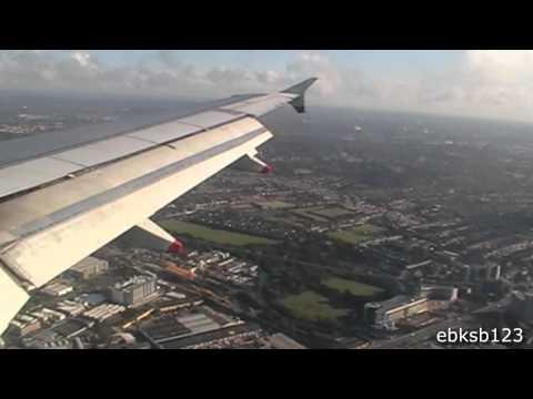 British Airways A319 Landing @Heathrow, London!